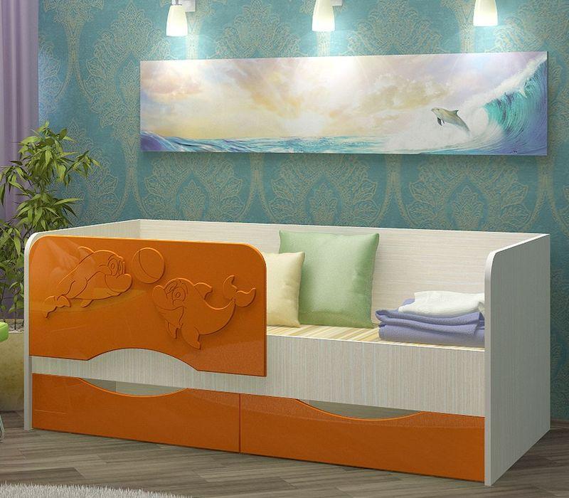 Кровать Дельфин 3Д