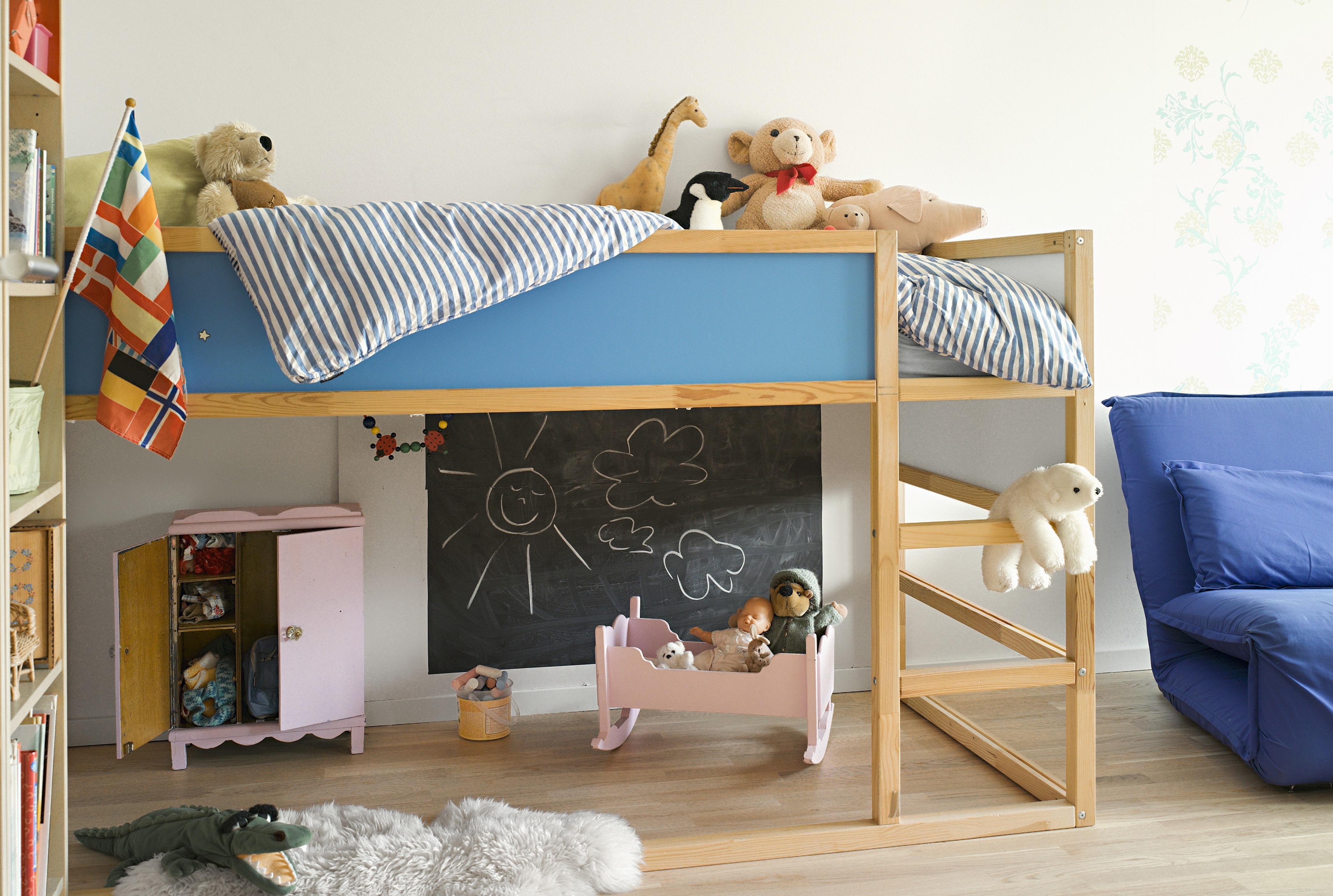 Кровать чердак для дошкольника