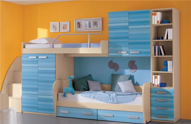Кровать чердак для двух детей