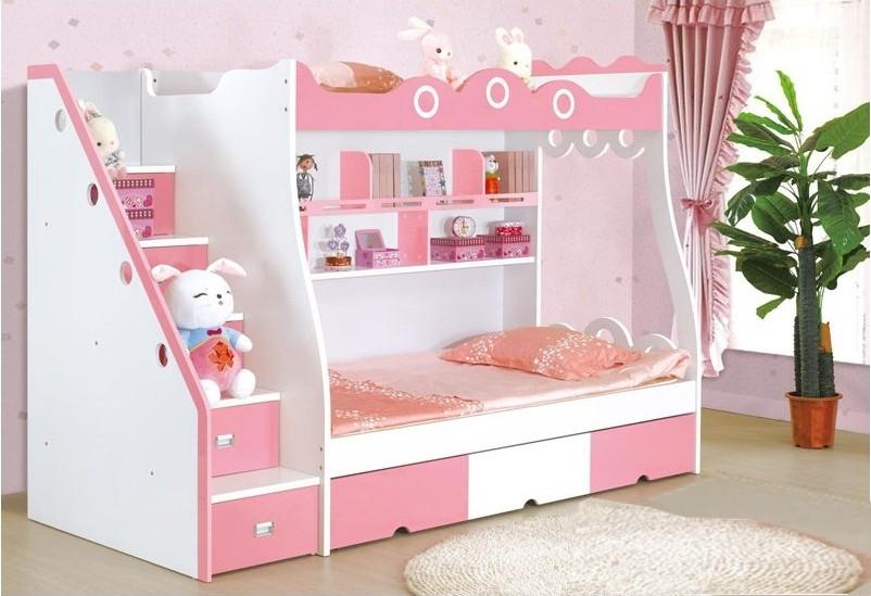 Кровать чердак с лестницей ящиками