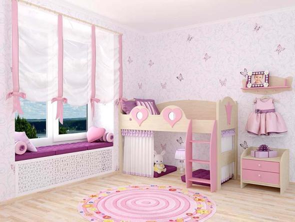 Кровать чердак в современном интерьере
