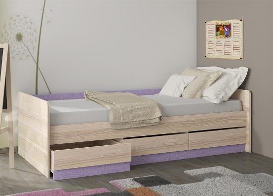 Кровать детская с ящиками
