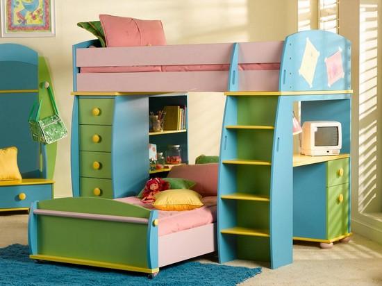 Кровать для двоих детей