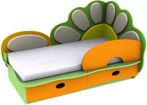 Кровать для мальчика от трех лет