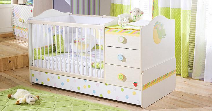 Кровать для новорожденной девочки