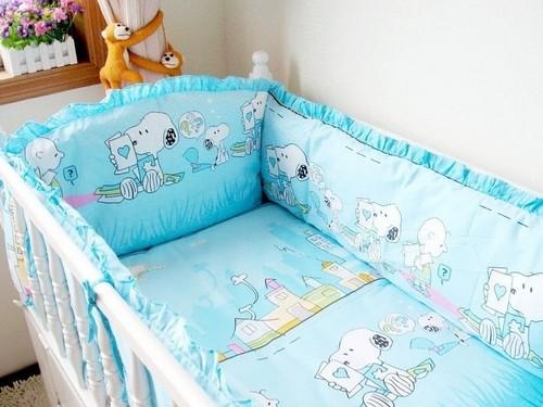 Кровать для новорожденных с бампером