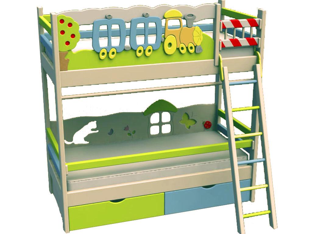 Кровать из МДФ для детей от 3 лет