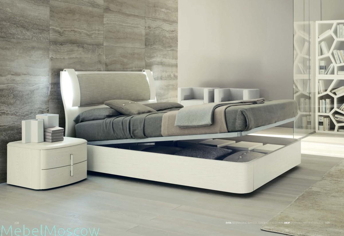 Кровать из белого ясеня