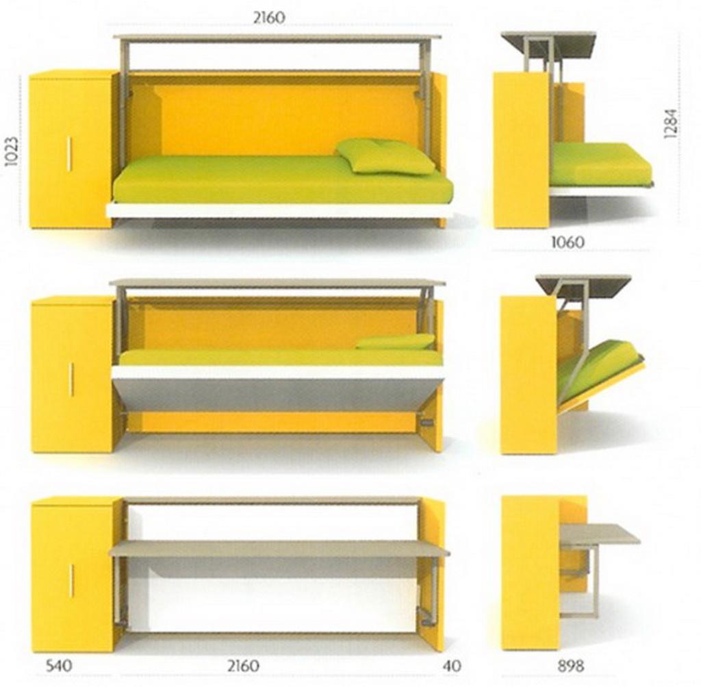 Кровать комод стол