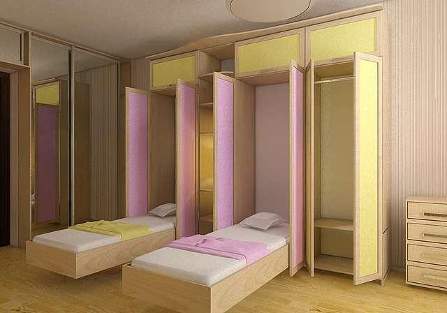 Кровать невидимка