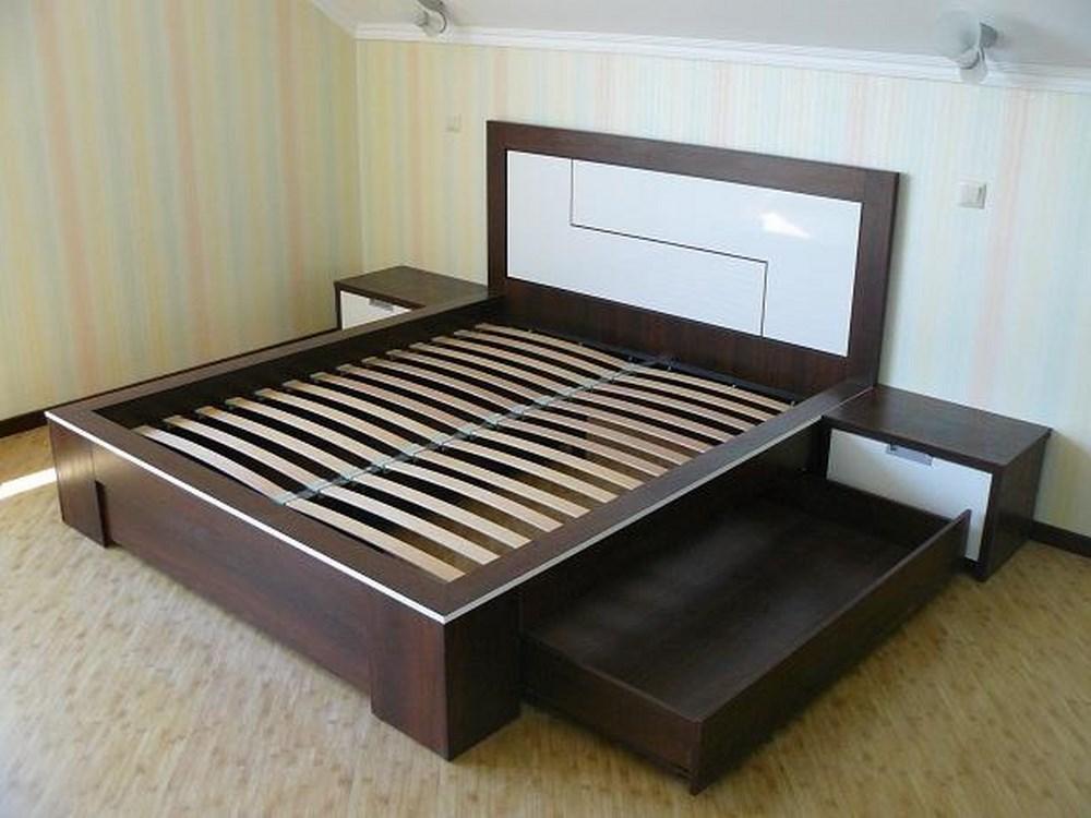 Кровать подиум из МДФ