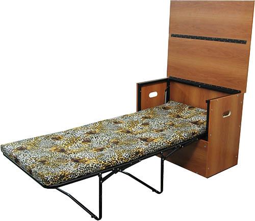 Кровать раскладная в разложенном положении