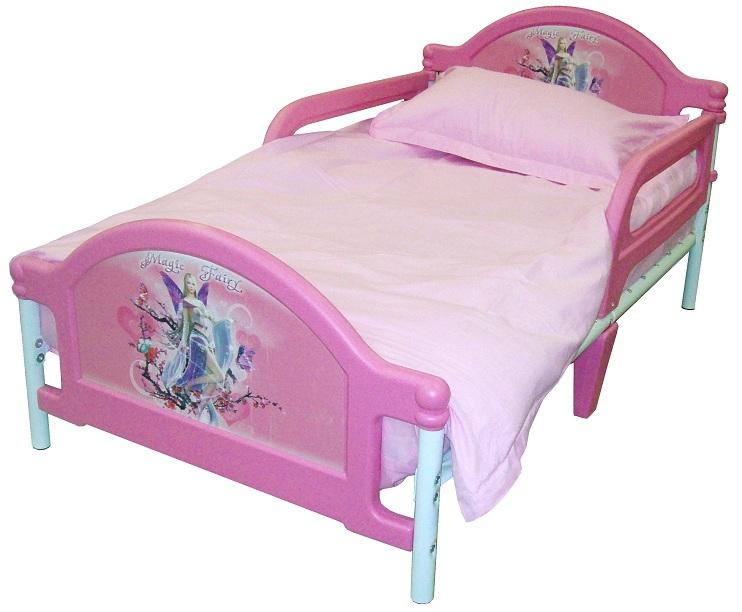 Кровать с боковыми защитными бортиками