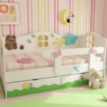 Выбираем детскую кровать от 3 лет с бортиками