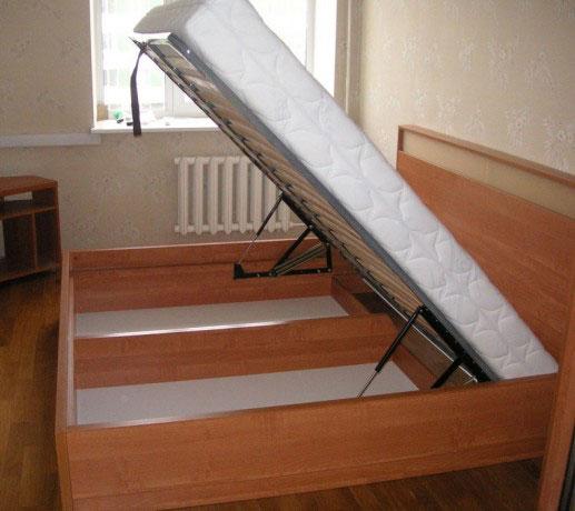 Кровать с двумя отдельными ящиками