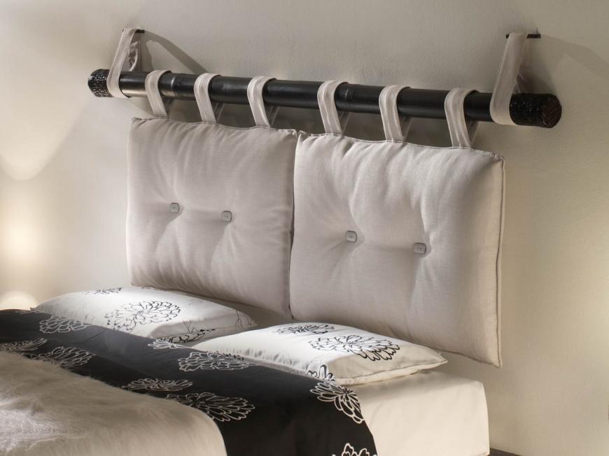 Кровать с навесным изголовьем