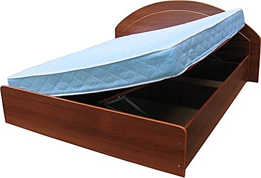 Кровать с нишей под матрасом