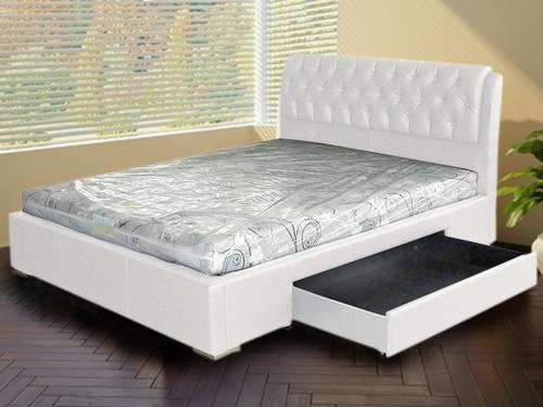Кровать с одним ящиком