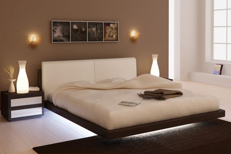 Кровать с подсветкой - оригинальное решение для вашей спальни