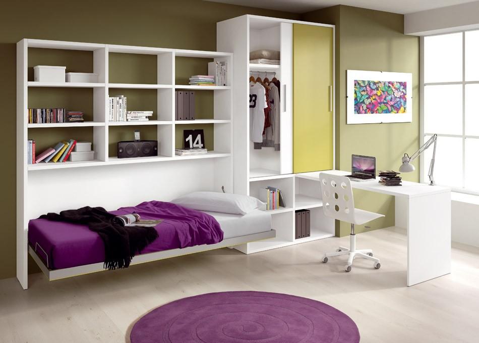 Кровать трансформер - крутой интерьерное решение для комнаты подростка