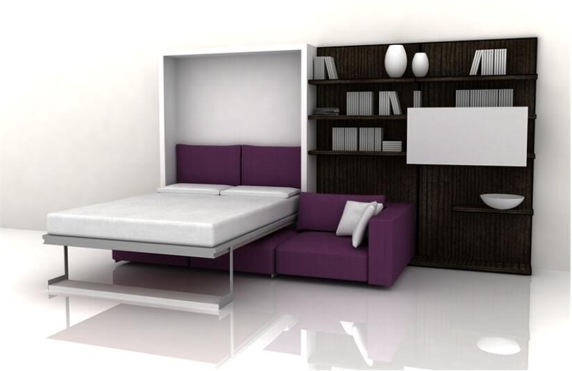 Кровать трансформер в интерьере
