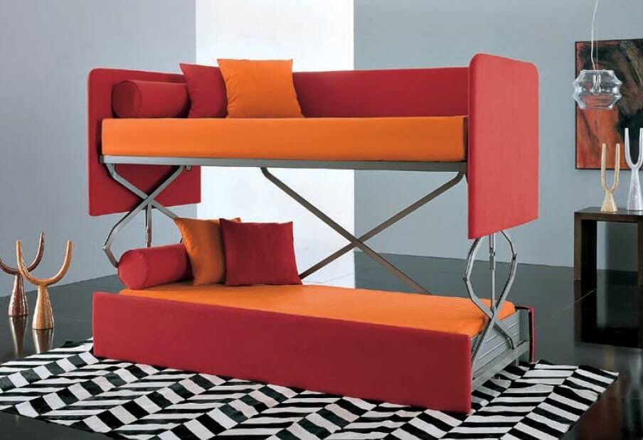 Кровать трасформер металлическая