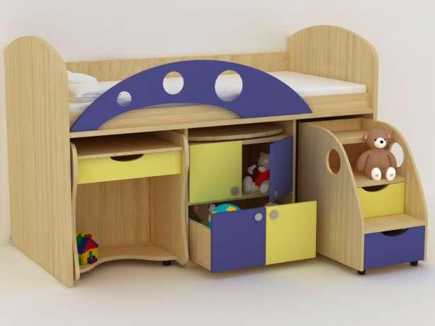 Кровать в детскую комнату