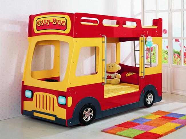 Кровать в виде автобуса