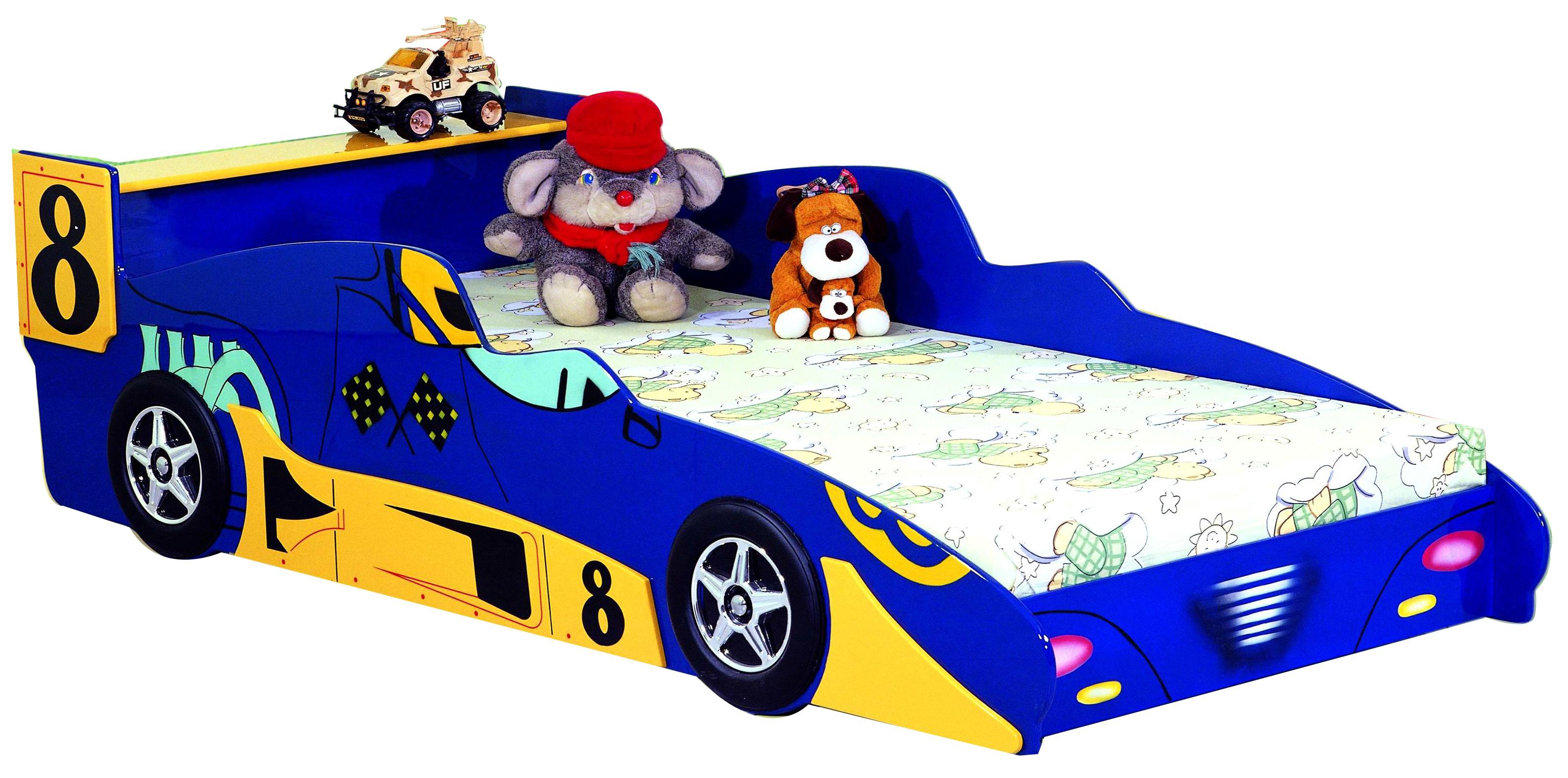 Кровать в виде машины детям от 3 лет
