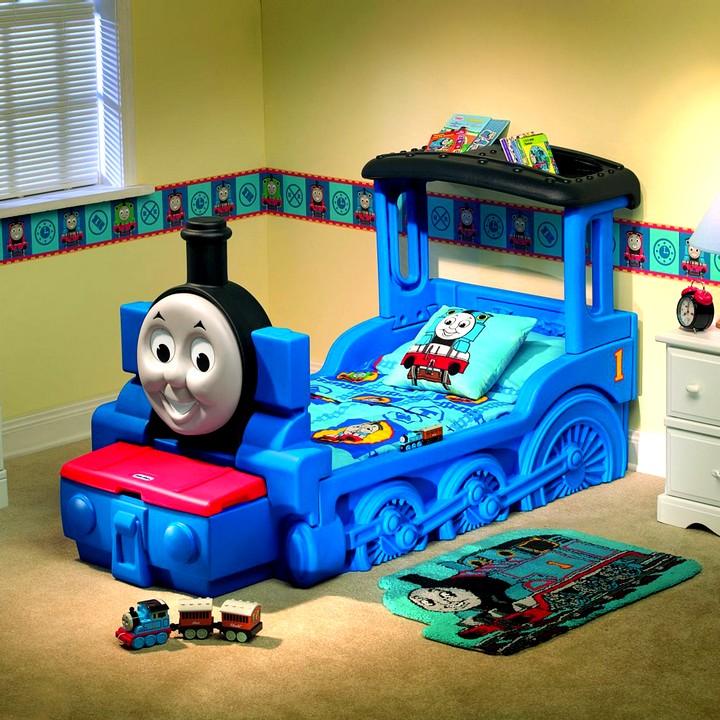 Кровать в виде поезда