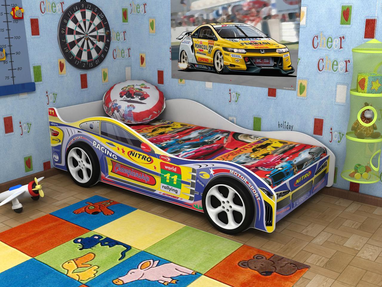 кровати машинки для мальчиков фото