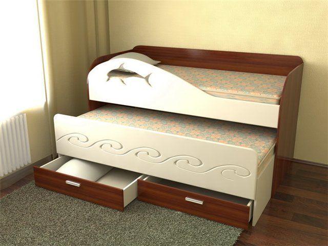 Кровати модели дельфин