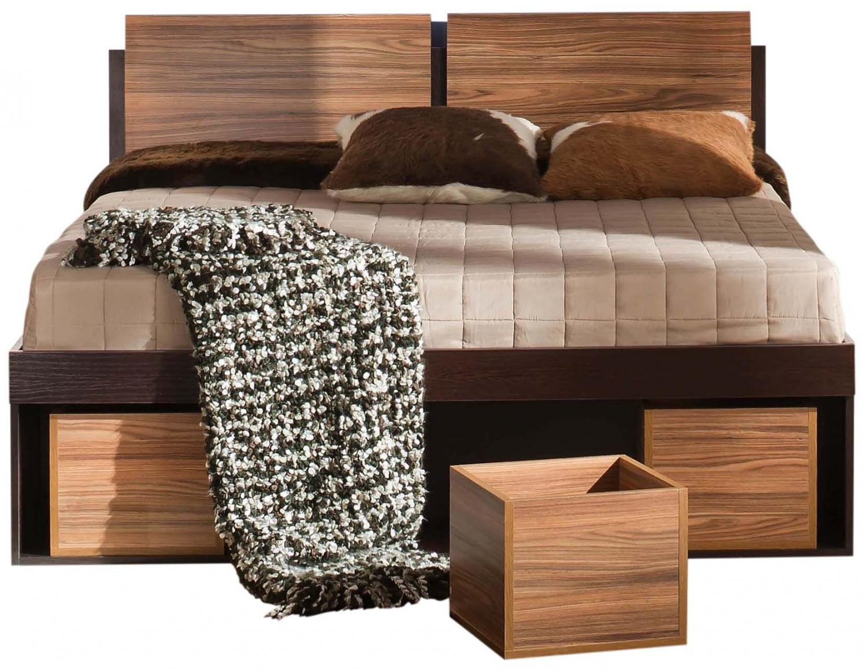 Кровати с ящиками с подъемным механизмом