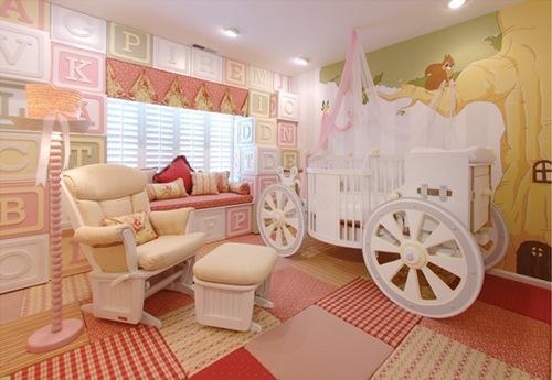 Кроватка для настоящей принцессы