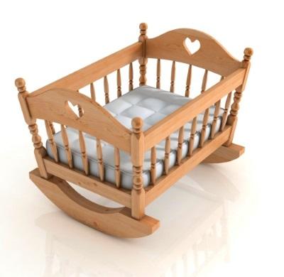 Кроватка качалка для ребенка