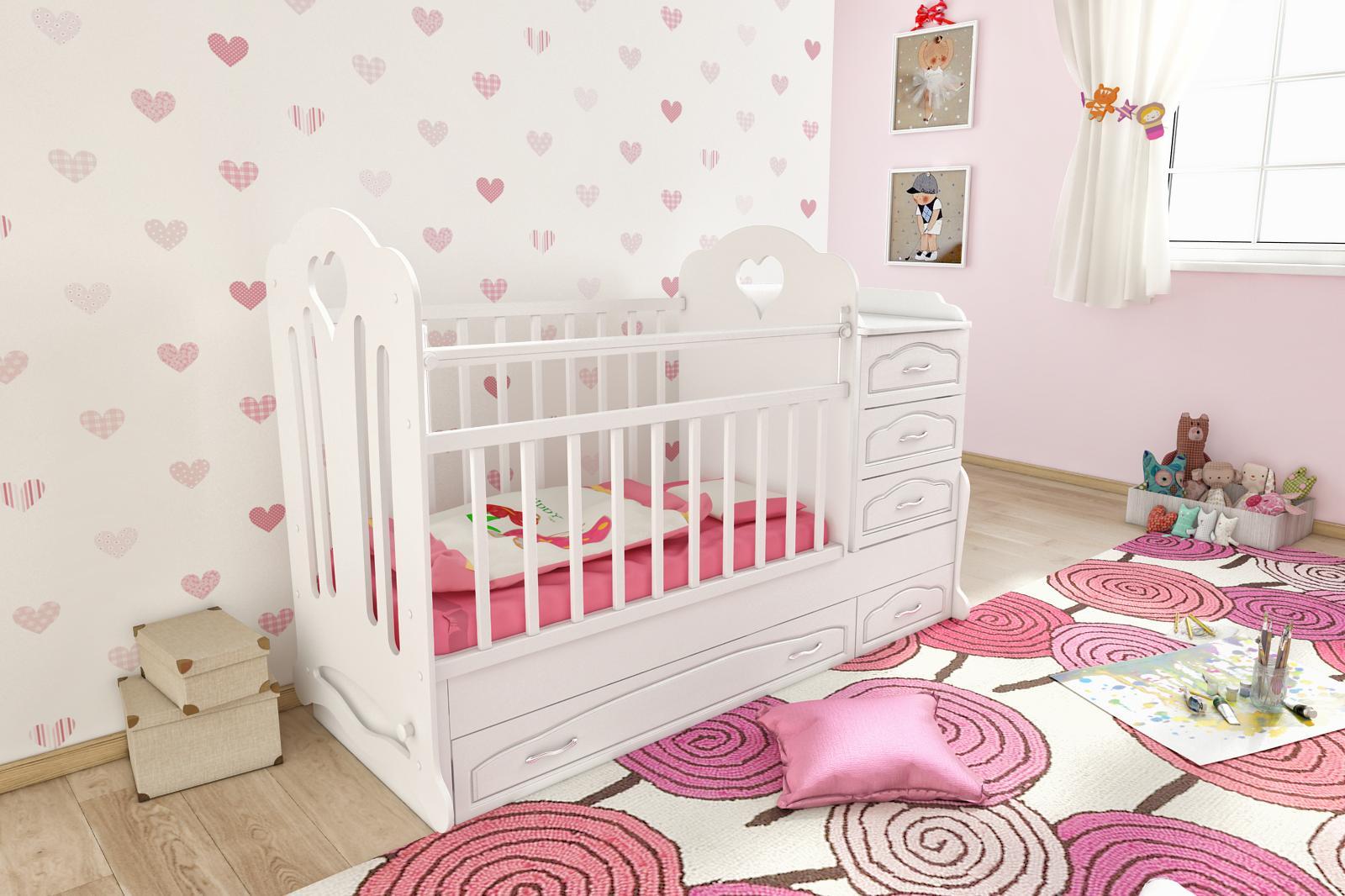 Кроватки из экологичных материалов