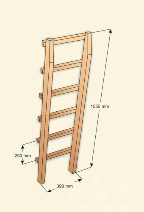 Лестница для второго этажа