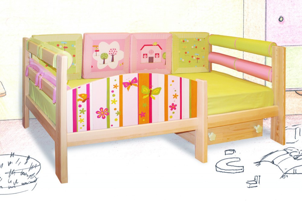 Кровать ребенку от 3 лет своими руками