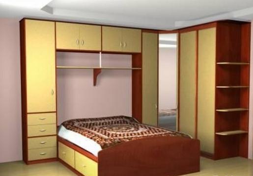 Мебель над кроватью