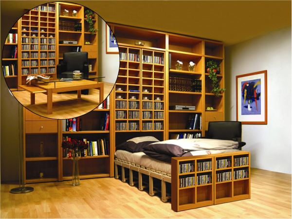Мебель трансформеры и дизайн малогабаритных квартир
