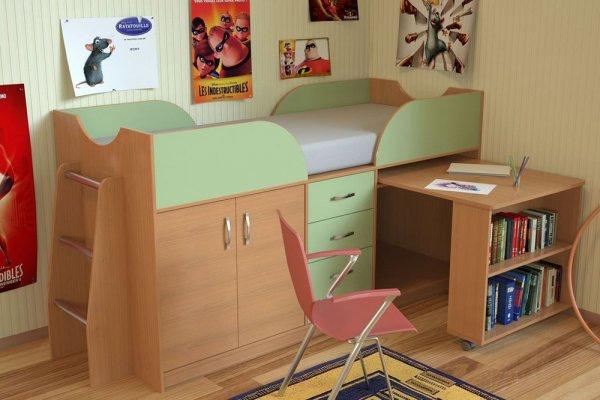 Миниатюрный детский мебельный комплекс