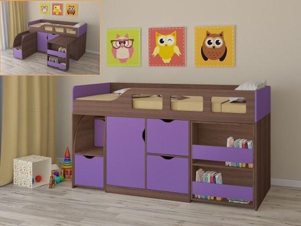 Модульная кровать для ребенка