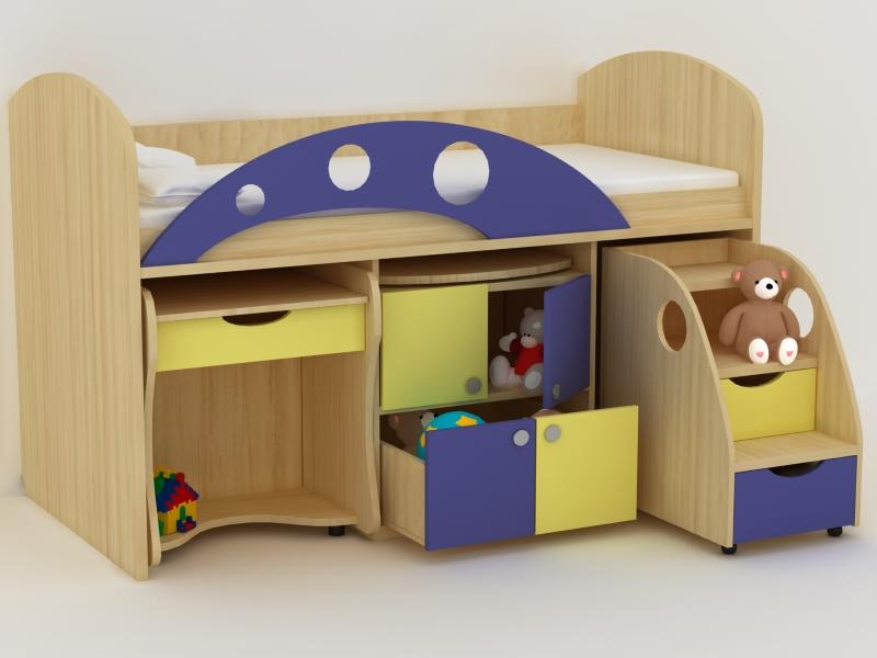 Модульная мебель с бортиком