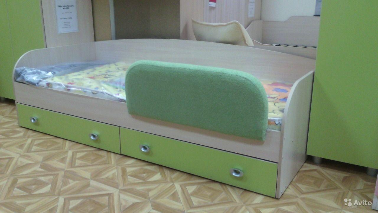 Мягкие бортики на детскую кровать от 3 лет