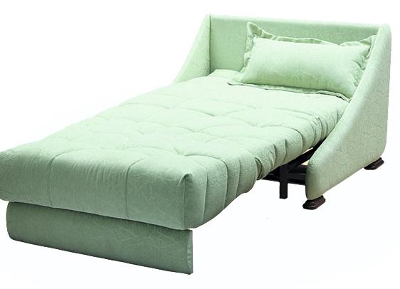 Мятная кресло кровать