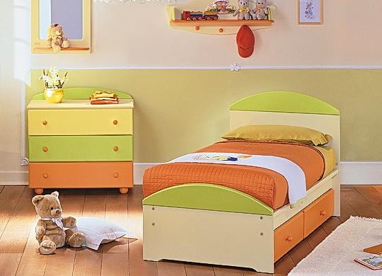 Напольная кровать детям от 3 лет