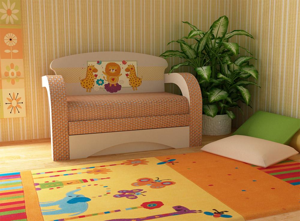 Небольшой диванчик раскладного типа
