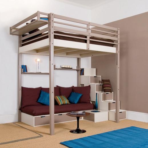 Односпальная кровать чердак для взрослых