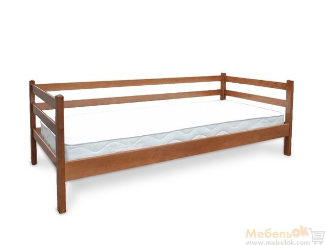 Односпальная кровать размером 90х200