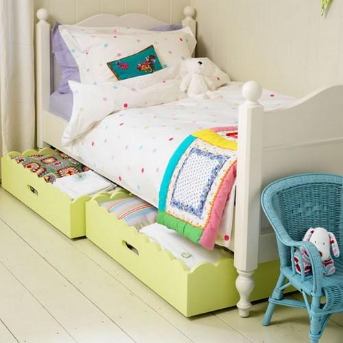 Односпальная кровать с ящиками детская